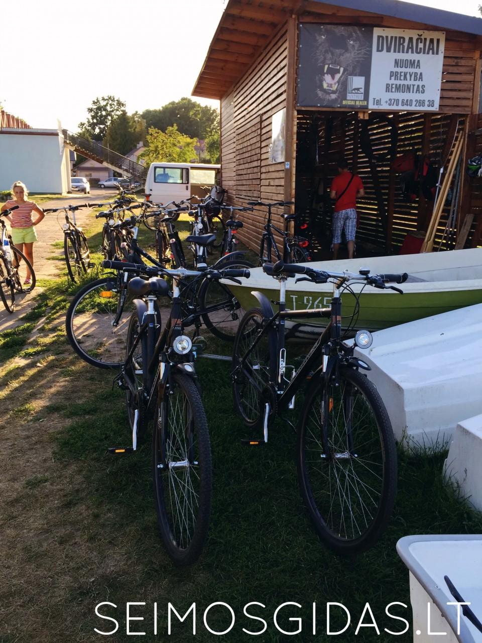 dviračių nuoma Birštone