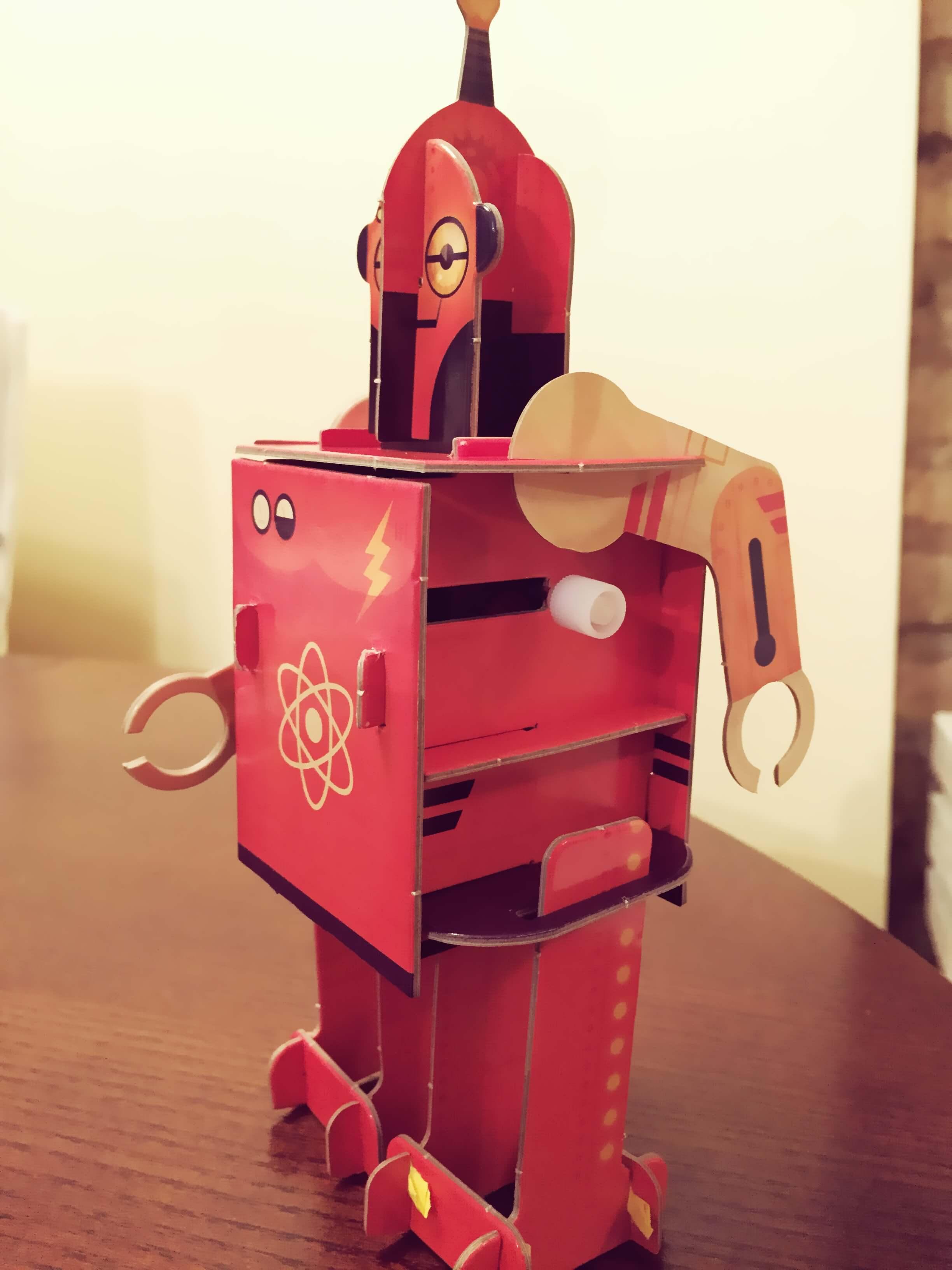 Surink robotą 5