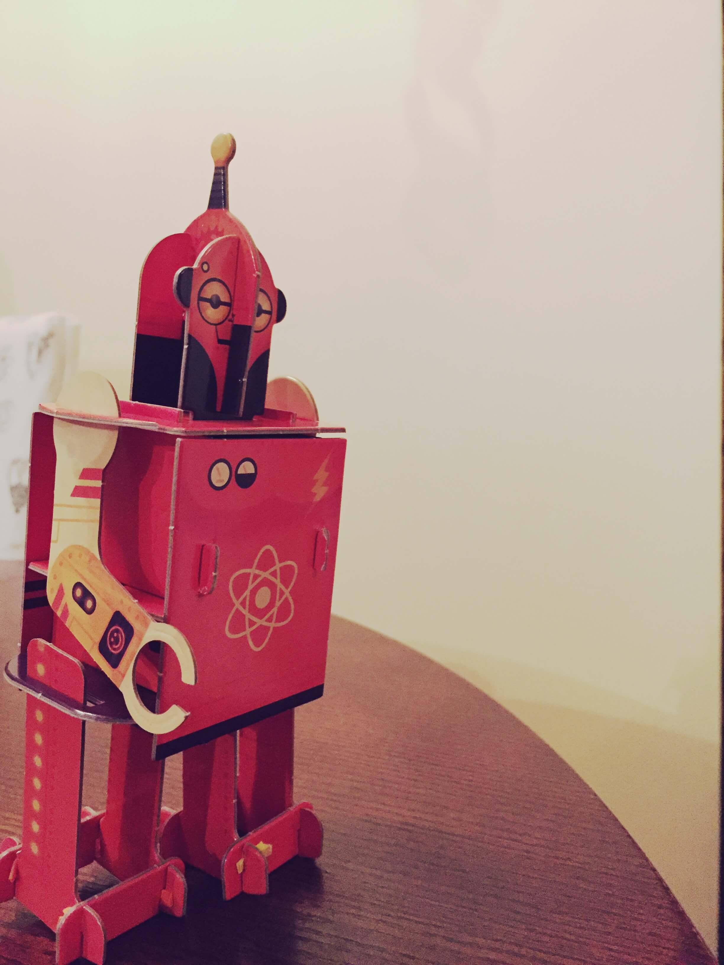 Surink robotą 6