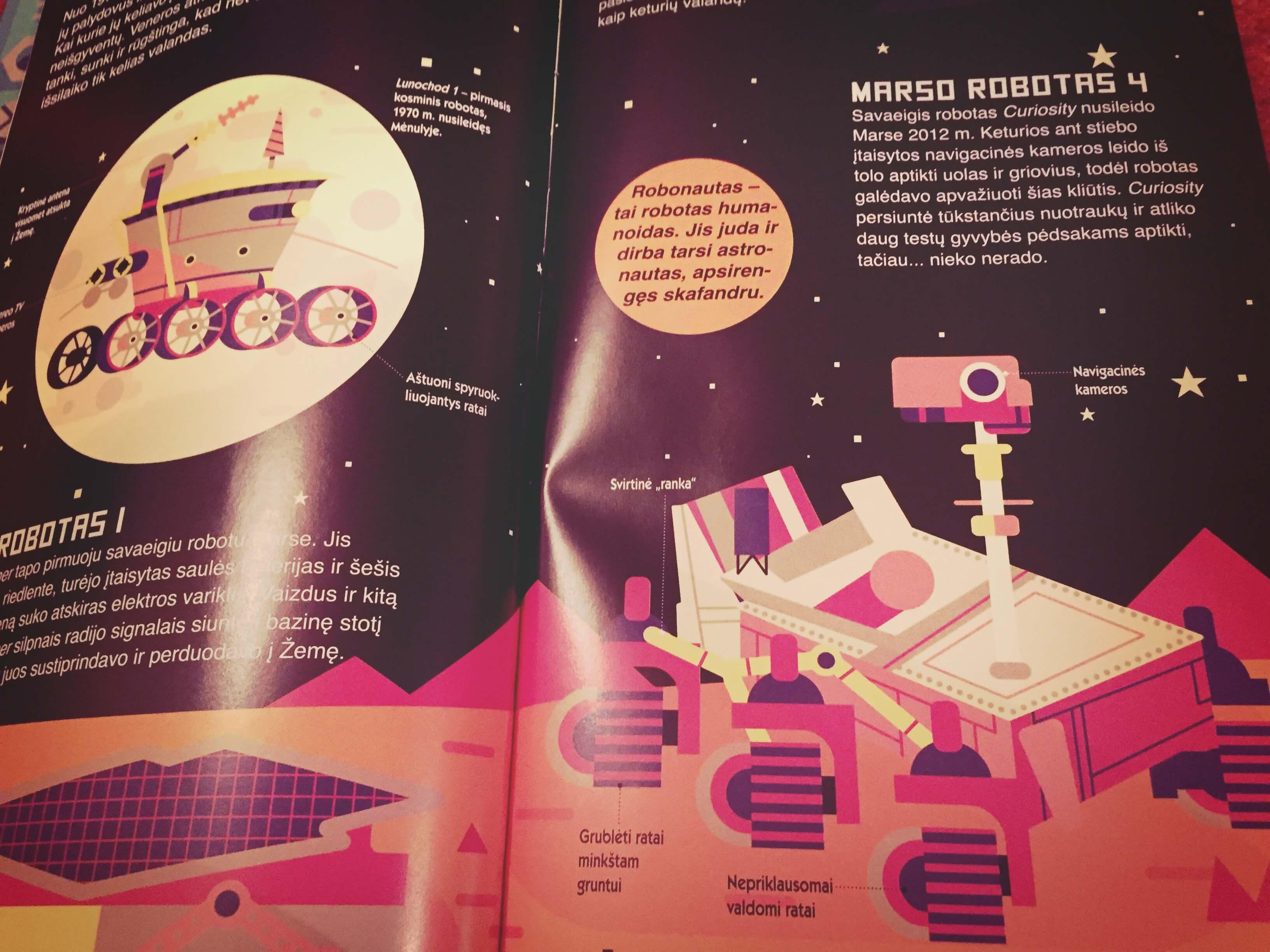 knyga apie robotus