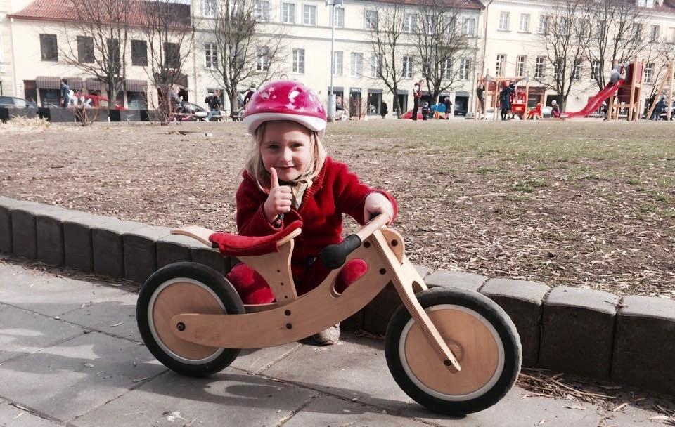 balansinis dviratuakas