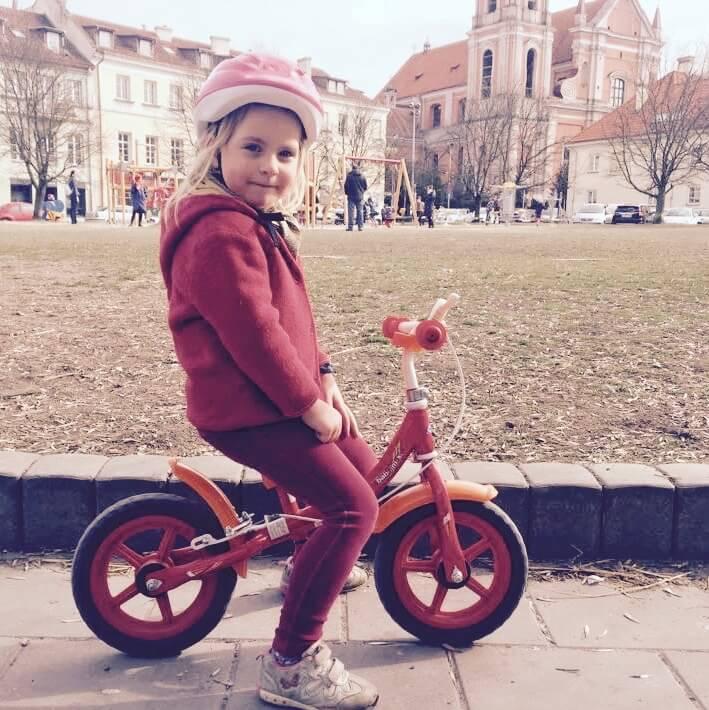 metalinis balansinis dviratukas