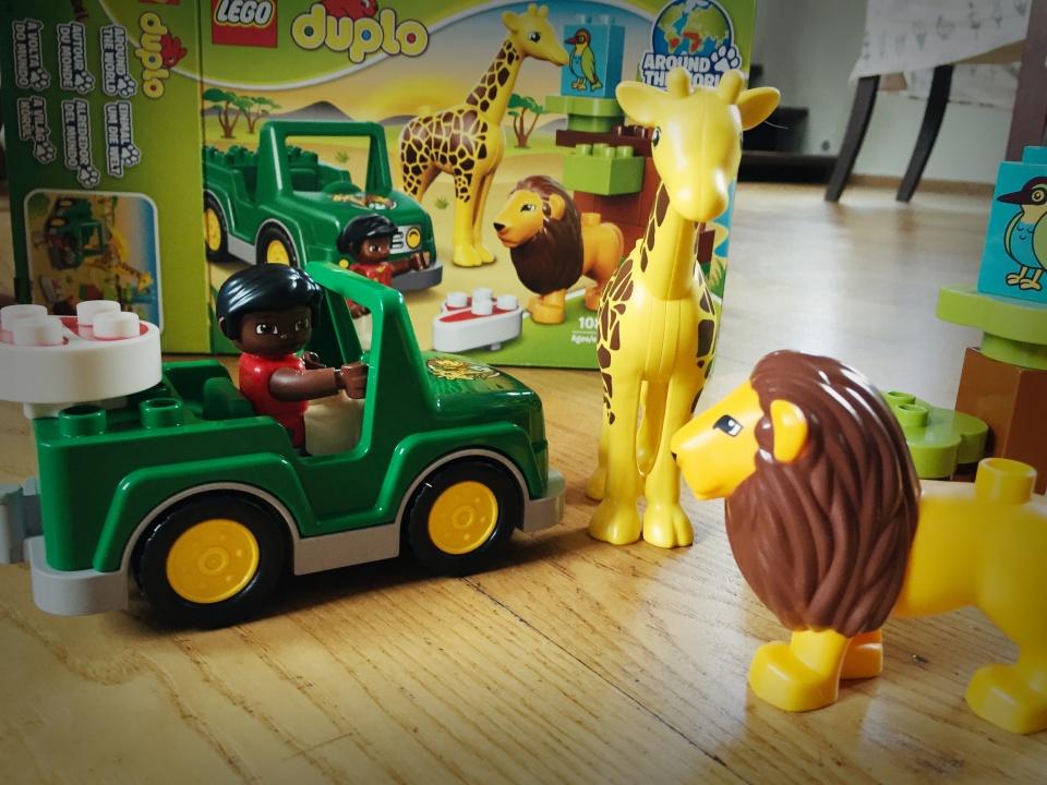 Lego duplo savana