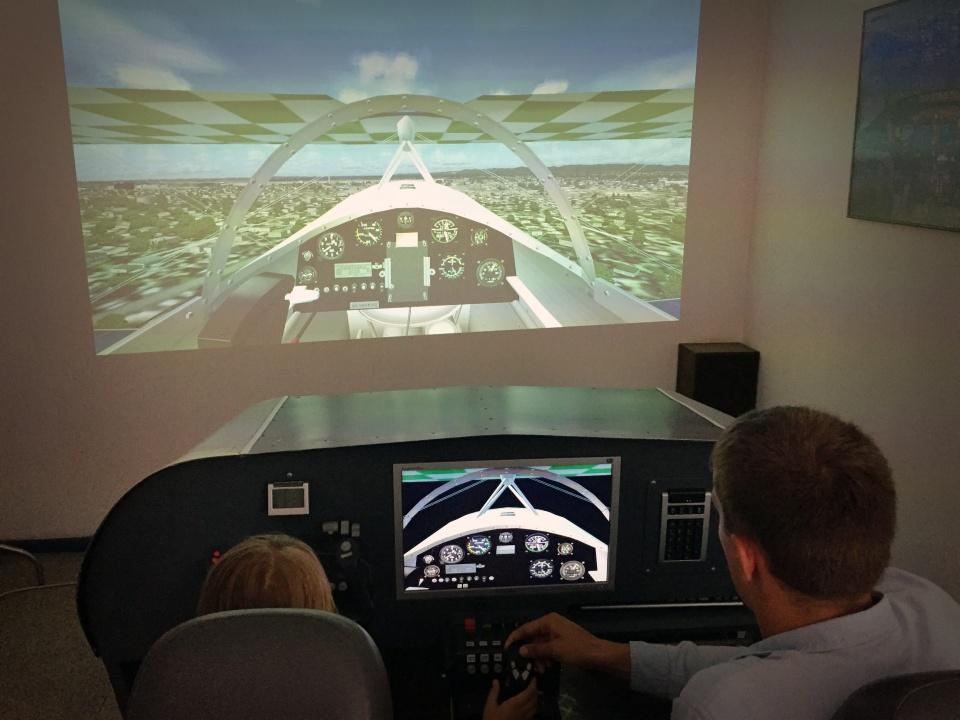 aviacijos muziejus simuliatorius 2