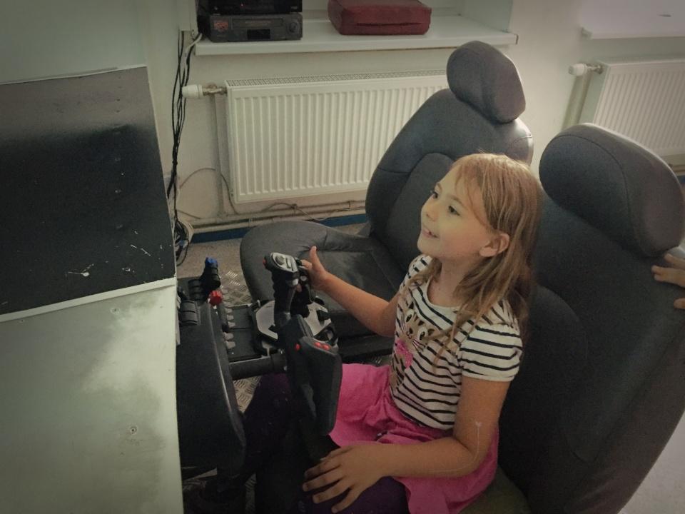 aviacijos muziejus simuliatorius