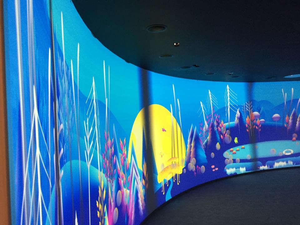 projekcijų kambarys Cosmos place