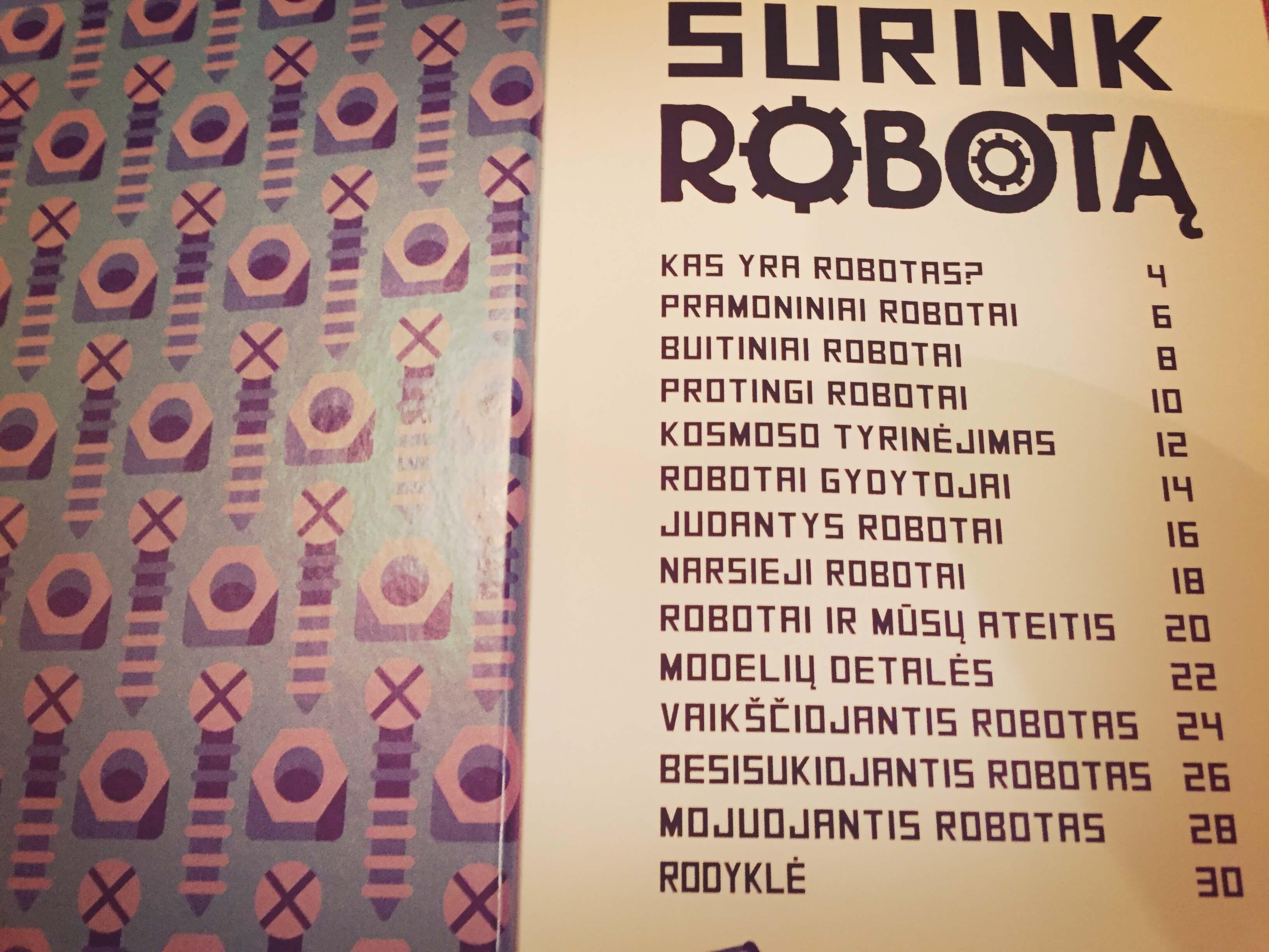 Surink robotą 7
