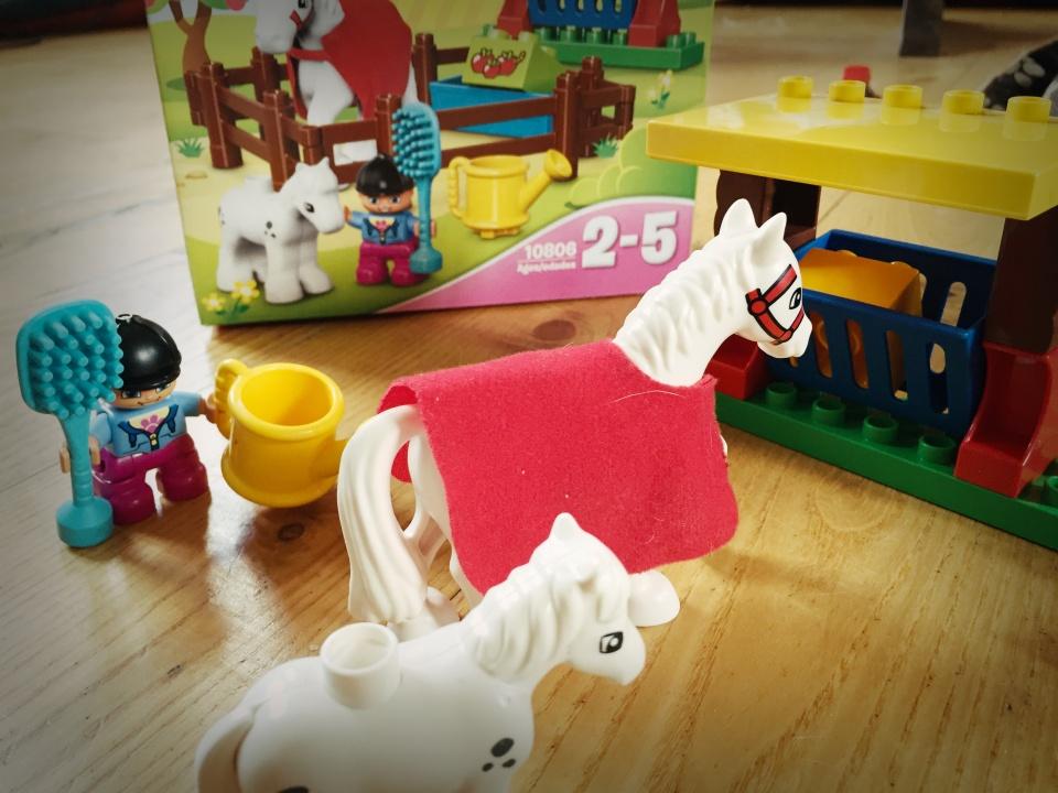 Lego duplo Žirgai