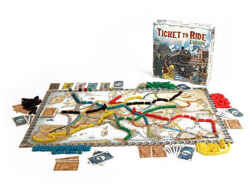 Ticket-to-Ride-Europe-žaidimas