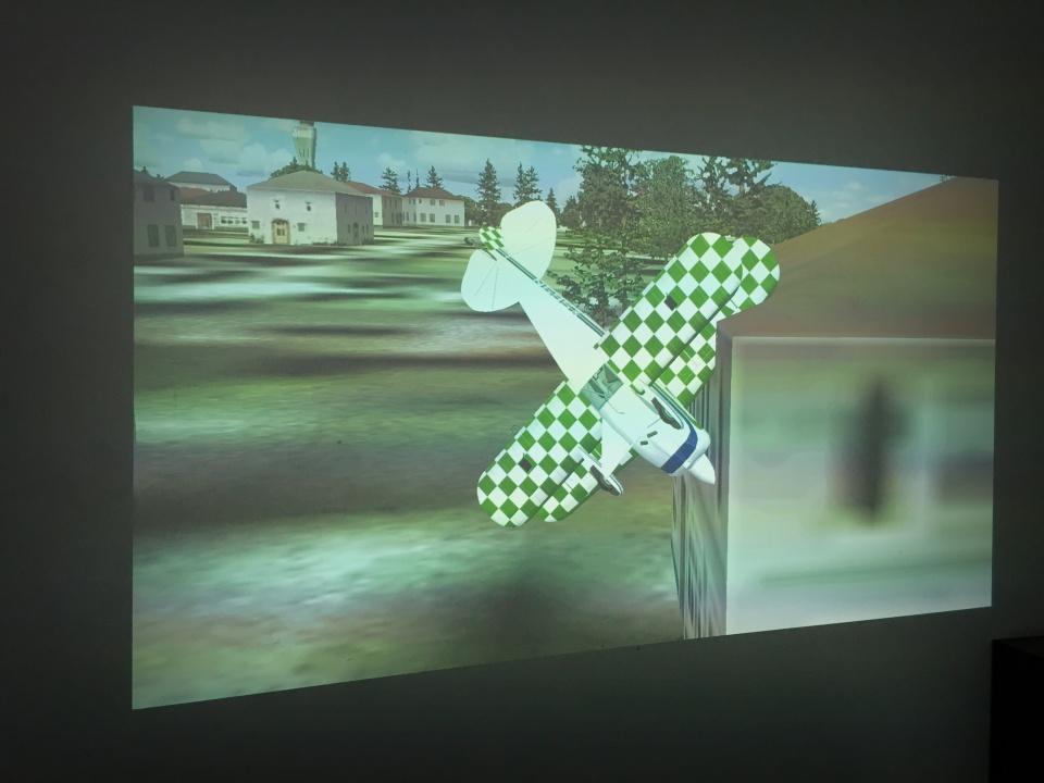 aviacijos muziejus simuliatorius 1