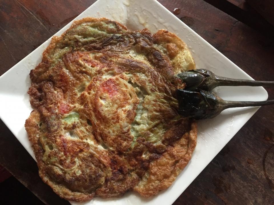 baklažanai su kiaušiniu